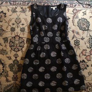 Banana Republic Black & White polka dot dress